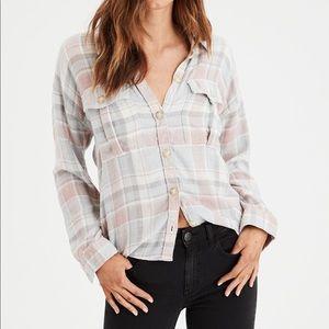 American Eagle Soft Utility Shirt